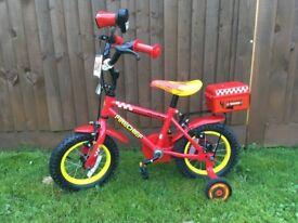 "Kids 12"" Firechief Bike"