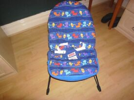 Vibrating Baby Bouncer Chair