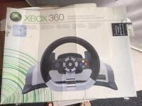 Official Xbox steering wheel with fight back