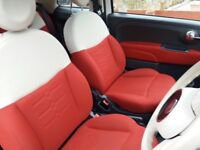 White Fiat 500 1.2L for sale (2014) 23,000 miles