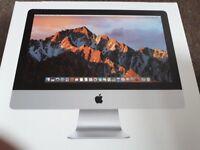 Brand new- 2017 Apple 21.5 inch IMac. Unopened.