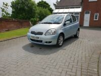 Toyota Yaris T Spirit 1.3 ideal for new drivers cheap insurance and very economical