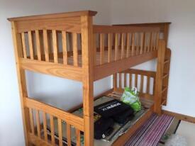 M&S Bunk Beds - Solid Pine