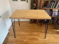 Handmade wooden desk/table