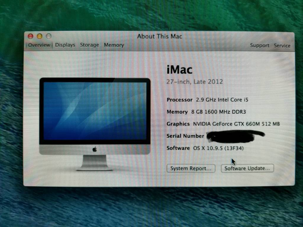 """IMac 27"""" i5 2.99GHz Late 2012 Slim Modelin Dudley, West MidlandsGumtree - Selling as hardly use it. Have a work laptop Please see pics for specs etc Also have a MacBook air and galaxy s7 phone for sale"""