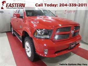 2014 Ram 1500 SPORT *LIFTED* 5.7 HEMI NAV 8.4 UCONNECT HEAT SEAT