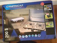 Campingaz 2-Burner Stove 200 S, and carry bag