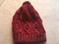 Ladies wool hat free size used £1
