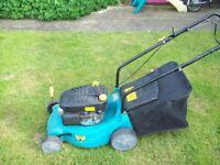 lawn mower 4 stroke. pet '