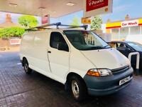 **GEN 35K MILES+LWB** TOYOTA HIACE 2.4D GS LWB + TOYOTA DLR HSTRY + 1 OWNR + PARKED INDOORS FROMDAY1