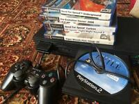 PS2 and 6 game bundle, all working