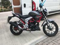Lexmoto Venom 125cc motorcycle