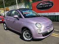2012 62 Fiat 500C 1.2 Lounge 2 door Convertible Low Miles Petrol 5 Speed Manual