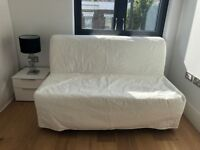 Ikea convertible two-seat sofa bed queen size