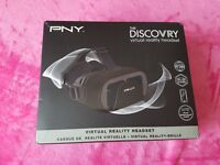 Virtual reality headset mint in box