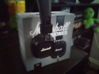 Marshall Major II Headphones - Phone, console, PC compatible - As New