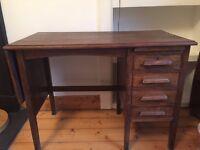 Vintage Wooden Desk For Sale - Excellent condition