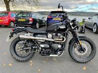 Triumph Street Scrambler with uprated cam + many extras