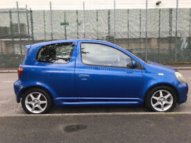 For Sale stunning looking Toyota Yaris T Sport,MOT end of Aug 2018,full service history,ample bills!