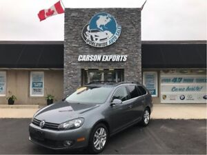 2011 Volkswagen Golf Wagon WOW DIESEL HIGHLINE! FINANCING AVAILA