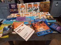 Huge bundle educational/older children's /txt bks work books clearance