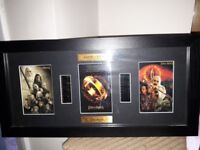 LORD OF THE RINGS FILM CELL DISPLAY . No 71 OF 200 LTD EDITION.