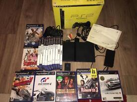 Boxed PlayStation 2 slim console