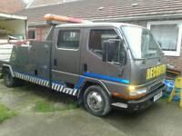 Recovery truck Mitsubishi