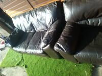 Sofas good condition just £30 Ono