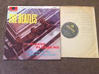 THE BEATLES Please Please Me UK MONO Y&B PARLOPHONE RECORDS VINYL LP 6TH PRESS