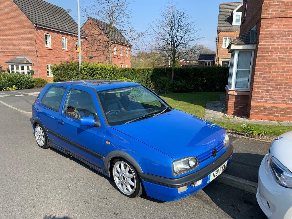 Golf Mk3 GTI colour concept jazz blue 8v 3dr had wrong contact number !!! |  in Swinton, Manchester | Gumtree