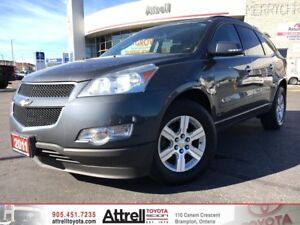 2011 Chevrolet Traverse. Third Row Seat, A/C, Alloys
