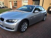 57 2008 BMW 320D SE COUPE. 6 SPEED, AUTO START/STOP, CRUISE, YEARS MOT, OUTSTANDING CONDITION