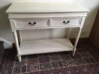 Shabby chic sideboard entrance hall table