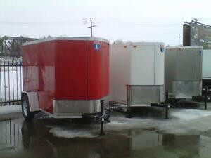 Enclosed, Utility, Car Haulers, Dump Trailers For SALE or RENT