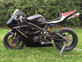 Triumph 675 Track bike £4600