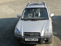 HYUNDAI TUCSON CDX 2008 4WD 5 DOOR MANUAL