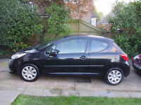 2008 PEUGEOT 207 3 DOOR HATCHBACK, 1400 CC ENGINES/HISTORY, 1 OWNER. YEARS MOT CHEAP TAX.