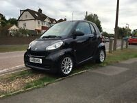 Smart Fortwo Passion 1.0 Petrol Auto/Semi-Auto Full service history MOT until July 2017 Only £30 Tax