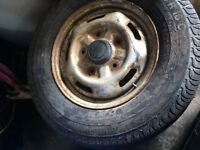 "Ford transit 16"" wheels and Tyres"