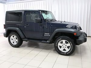 2013 Jeep Wrangler SPORT 4X4 TRAIL RATED 2DR V6 Pentastar. A FUN