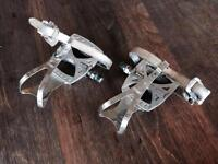 Pédales MKS avec cages et straps