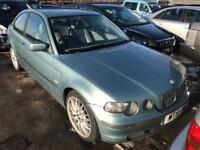 Bmw 318 Se Compact SPECIAL. MOT. TAX. LEATHER. BMW HISTORY 1 Owner