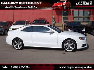 2013 Audi A5 2.0T S line AWD/NAVI/6-SPEED/SUNROOF