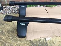 Skoda Octavia Mk2 Thule roof bars