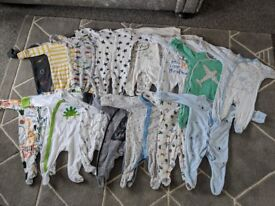 Next 0-3 months babygrow bundle