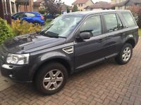 Land Rover Freelander 2 2.2 ED4 GS, good condition with private registration