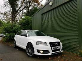WHITE AUDI A3 1.9 TDI SPORT BLACK EDITION STYLING FINANCE AVAILABLE