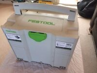 FESTOOL TS 55 R RE BQ Plus - Circular Saw and Guide Rails - Used, In perfect working order