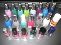 21 Various Makes and Colours of Nail Varnish - La Femme Beauty and Max Factor